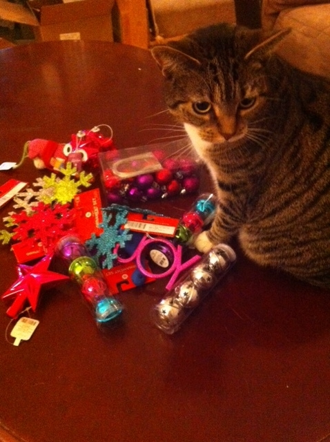 Ruckus with ornaments